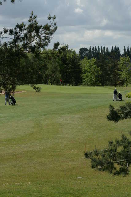 View of a green at South Chesterfield Golf Club
