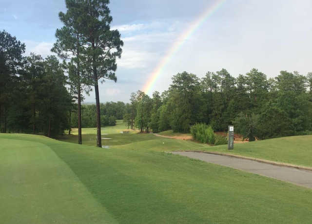 A view of the rainbow protecting Shadow Ridge Golf Club.