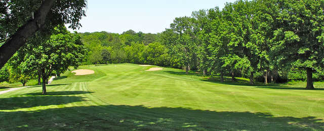 A view from the left side of a fairway at Hillcrest Golf & Country Club.