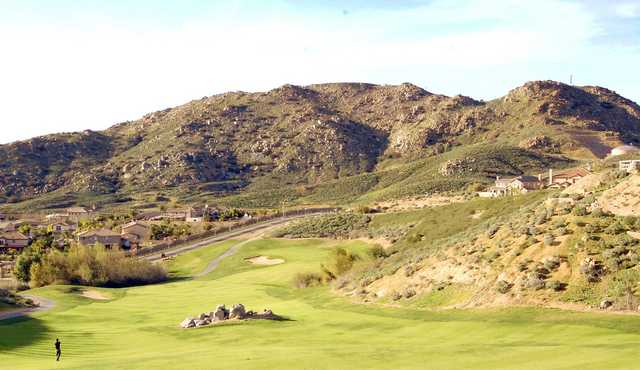 A view from the par 5, 15th hole at Hidden Valley Golf Club