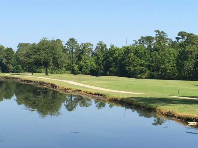A view over the water from Fairways Country Club.