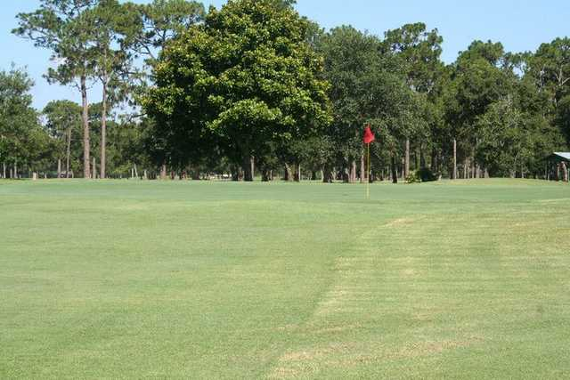 A view of hole #2 from Pines at Ft. Walton Beach Golf Club.