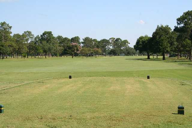 A view from the 8th tee at Pines from Ft. Walton Beach Golf Club.