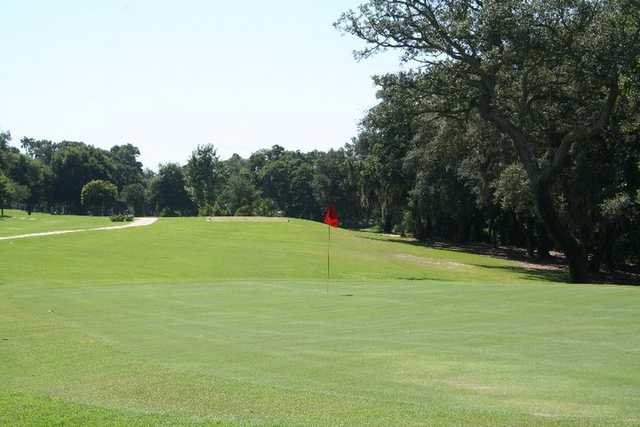 A view of the 2nd hole from Oaks at Ft. Walton Beach Golf Club.