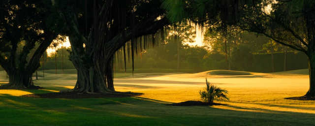 A sunny day view from Delray Dunes Golf & Country Club.