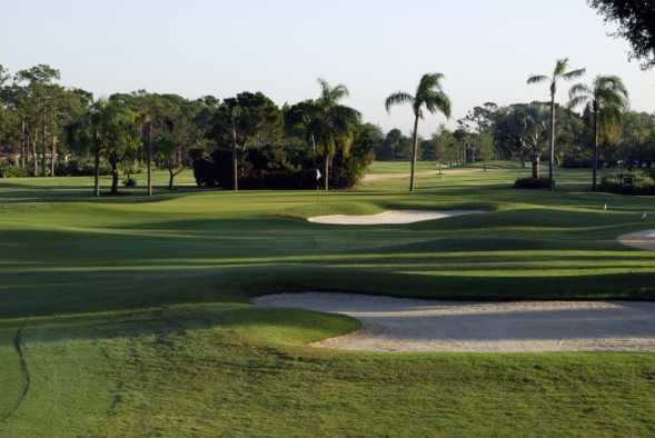 A view of hole #1 at Delray Dunes Golf & Country Club.