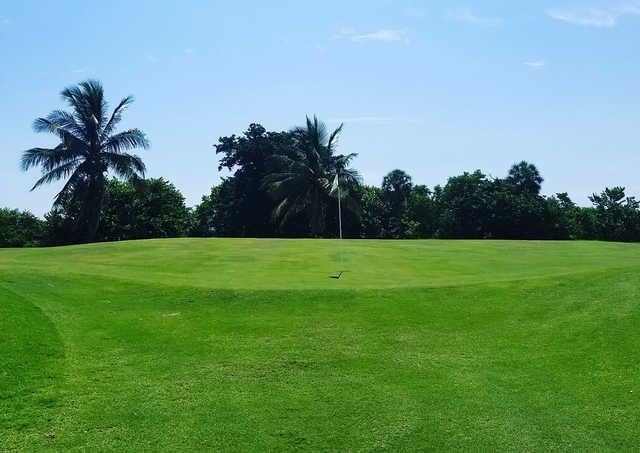 A view of hole #14 at Lake Worth Beach Golf Club.