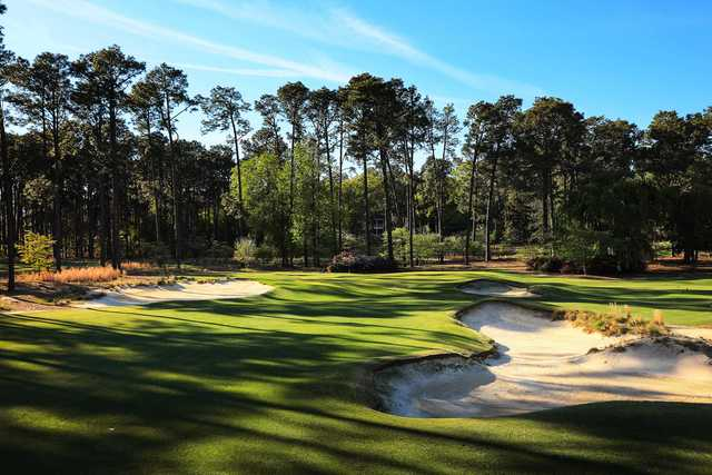 View of the 16th hole at Mid Pines Inn & Golf Club