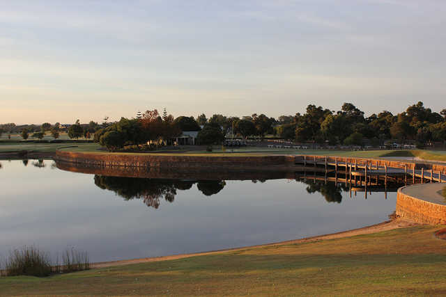A view from Dunsborough Lakes Golf Club