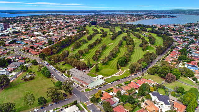 Aerial view from Beverley Park Golf Club