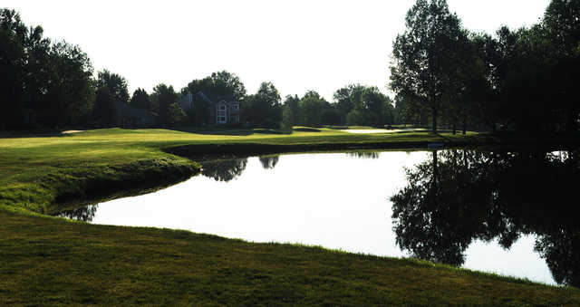 A view over the water from Coal Creek Golf Course.