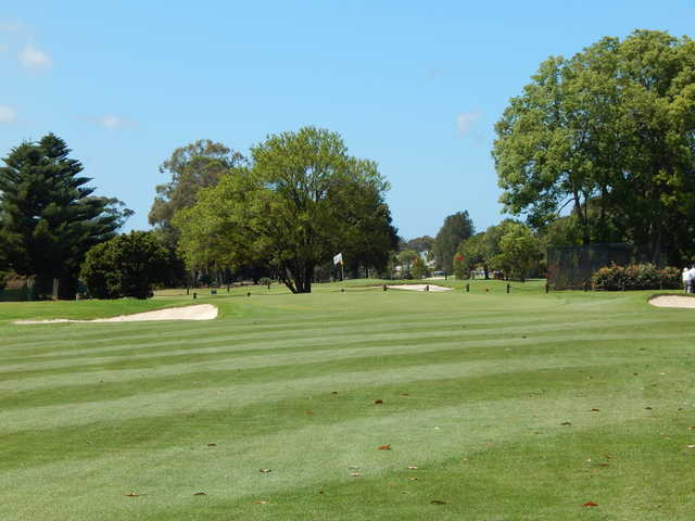View of the 17th green at Everglades Country Club