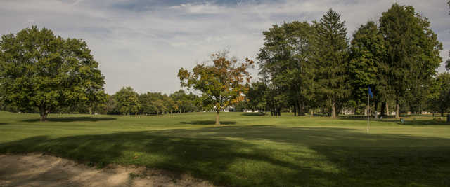 View of a green at Edgewood Golf and Event Center
