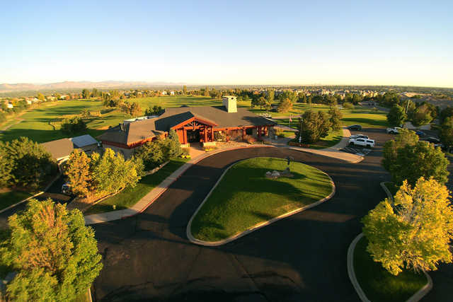 A view from University of Denver Golf Club at Highlands Ranch
