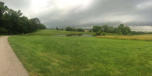 A view from Norwoods Golf Club.