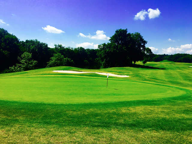 A view of a hole at Egwani Farms Golf Course.