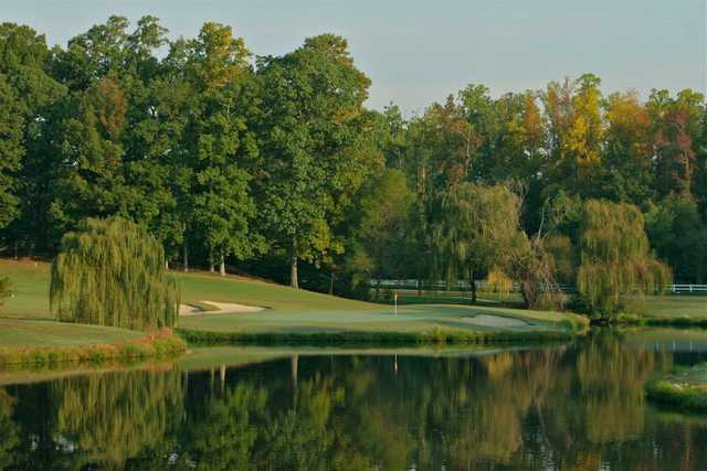 A view of a hole at Ford's Colony Country Club.