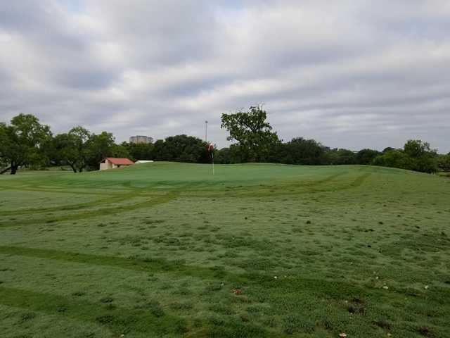 A view of a hole at Fort Sam Houston Golf Course.