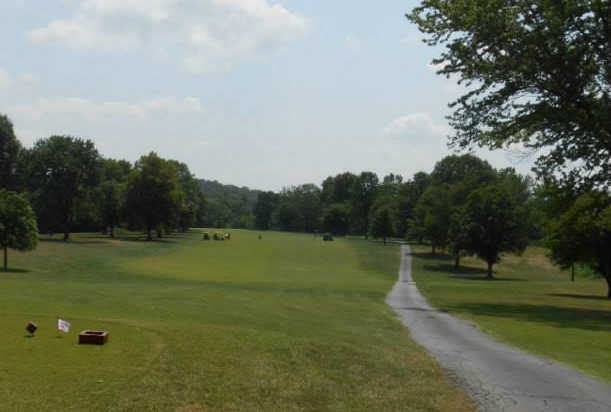 A view of fairway #2 at Loutre Shore Country Club.