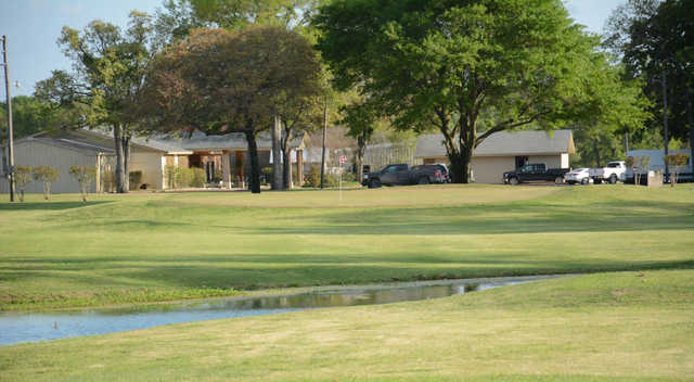 A view of a green at Tri-County Golf Club.