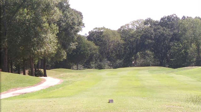 A view from a tee at Tri-County Golf Club.