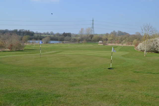 View from a green at Henley Golf & Country Club Par-3 Course