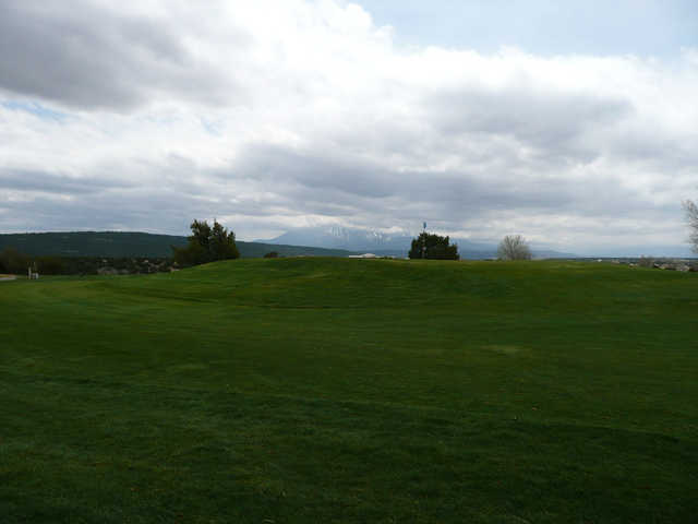 A view of a hole at Walsenburg Golf Course.