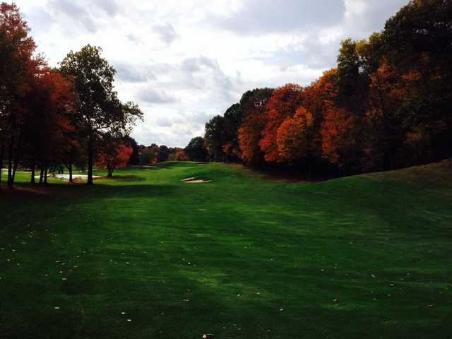 A fall day view from Brownson Country Club.