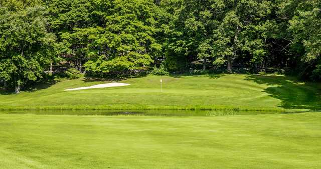 A view of a hole at Brownson Country Club