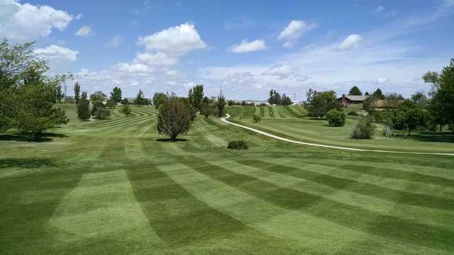 A view from Wray Golf Course