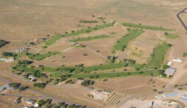 Aerial view from Wray Golf Course
