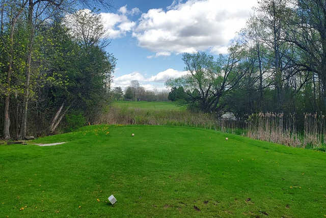 A view from tee #3 at Lombard Glen Golf Club.