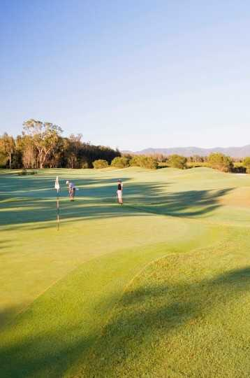 Golfers on Hunter Valley Golf course
