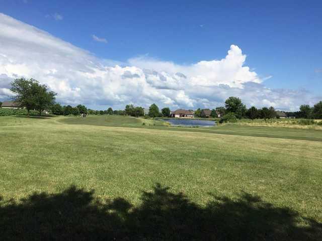 A view of a fairway at K's Creek Golf Club.