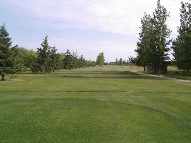 A view from the 3rd tee at Whispering Winds of Warren.