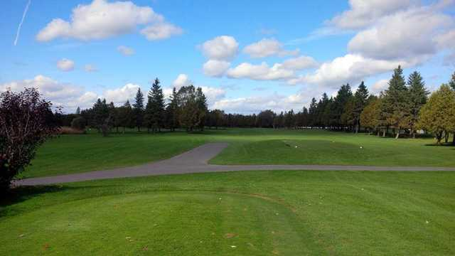 A view from a tee at Stittsville Golf Course.