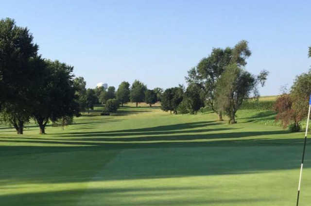 A view from the 2nd green at Tarkio Golf Club.