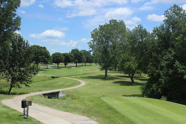 A view of tee #12 at Sedalia Country Club.