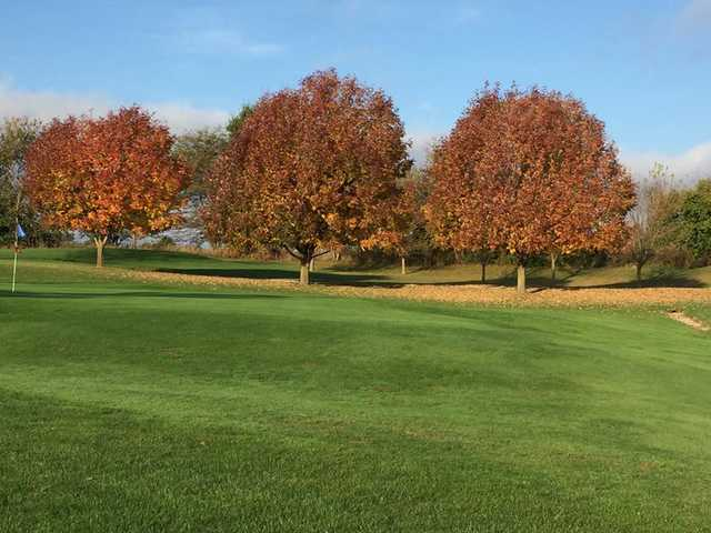A view from a tee at Timber Ridge Golf Course.