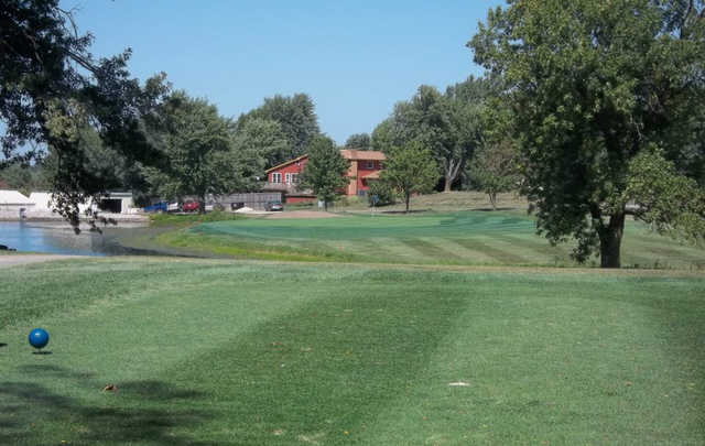 A view from a tee at Maryville Country Club.