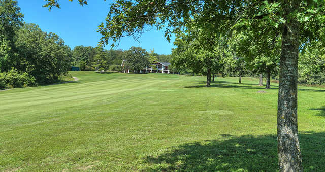 A view of a fairway at Viburnum Golf & Country Club.