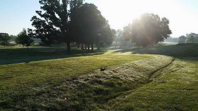 A view of a tee at North Terra Golf Course.