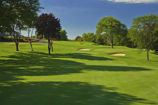 A view of the 9th hole at University Club of Milwaukee.