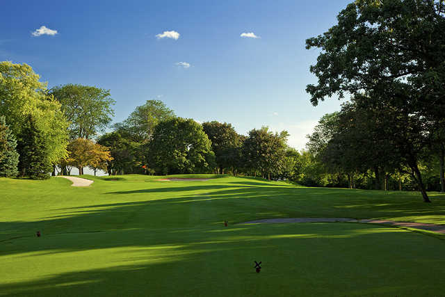 A view from tee #14 at University Club of Milwaukee.