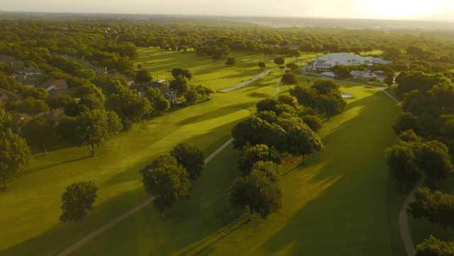 Aerial view from Eldorado Country Club.