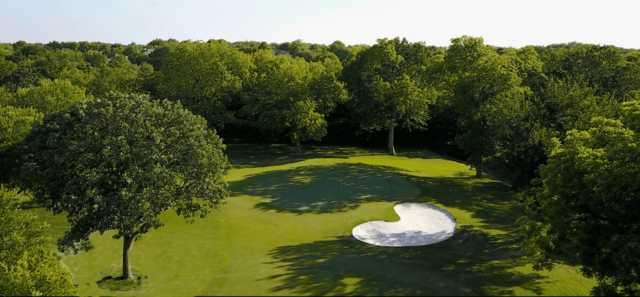 View of a green at Eldorado Country Club.
