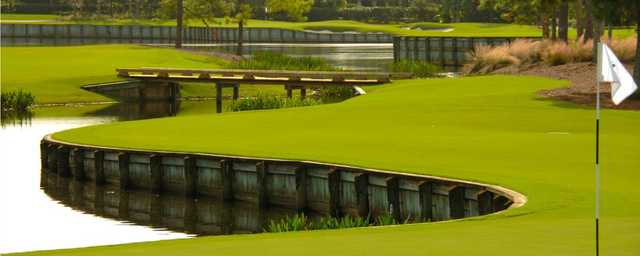 A view from a green at Loxahatchee Club.