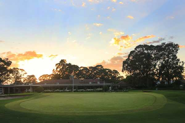 A view from Bankstown Golf Club