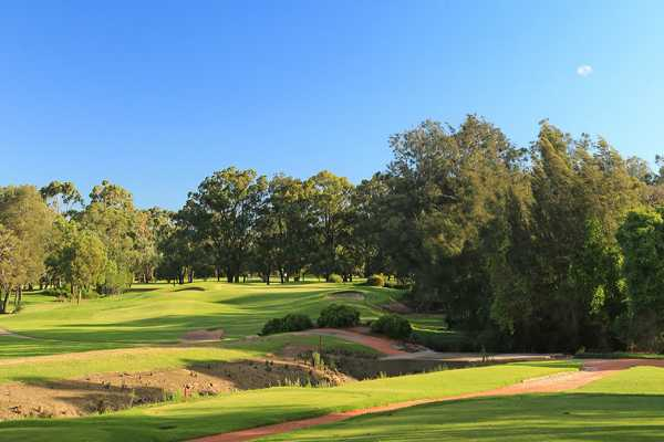 View from a tee at Bankstown Golf Club
