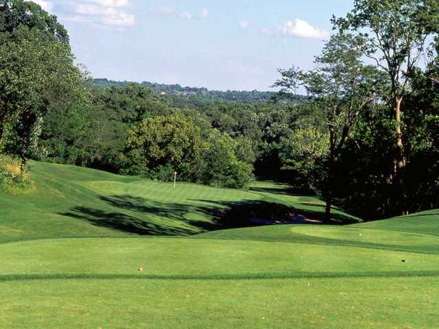 A view from tee #16 at National Golf Club of Kansas City.